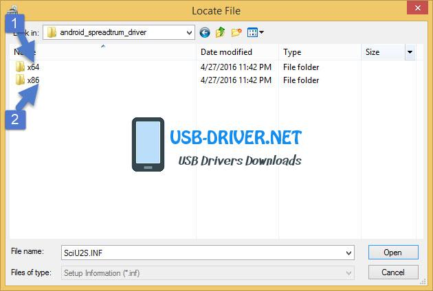 usb driver x64 or x32 - Archos Core 55S Ultra