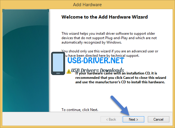 usb driver Welcome to the Add Legacy Hardware ADB Driver - Archos Access 50 Color 4G