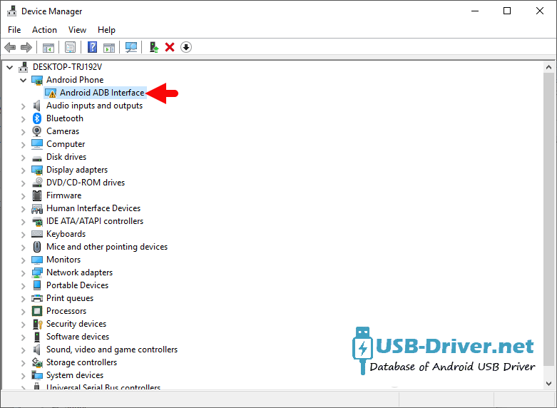 Download Panasonic T41 USB Driver - driver listed 1