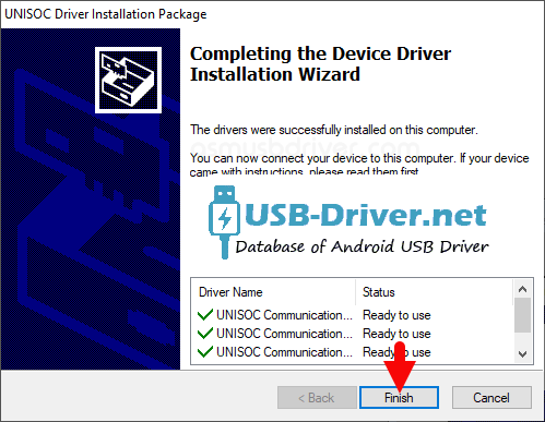 Download Lephone C05 USB Driver - spd driver finish