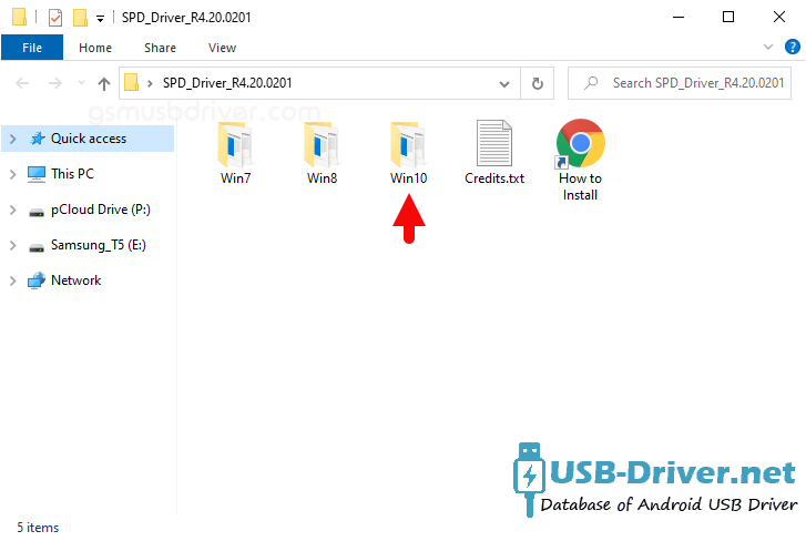 Download Daxian P1666 Plus USB Driver - spd driver r4 20 0201 folder
